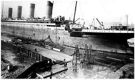 36 Pictures Of The Construction Of The Titanic