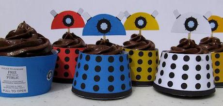 Dalek Cupcakes Are Out Of This World