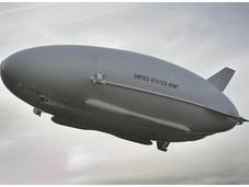 Army Debuts First Test Flight LEMV Airship