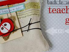 Back School...teacher's Gift with Canvas Corp.