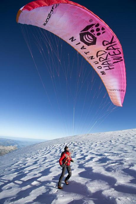 Ueli Steck Climbs and Paraglides Three Classic European Mountains