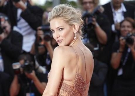 Kate Hudson at the Venice Film Festival premiere of her filme, The Reluctant Fundamentalist, 29 August 2012.