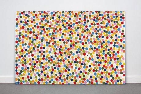 Damien Hirst, contemporary abstract art, yasoypintor