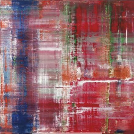 Gerhard richter paintings top selling living artist for Sell abstract art online