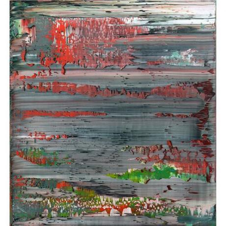 Gerhard Richter, contemporary modern art, abstract painting, yasoypintor