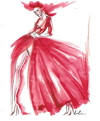 MBFW - Norisol Ferrari Spring 2013 Collection Sketch
