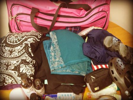 Tips for packing when you're off on a short break