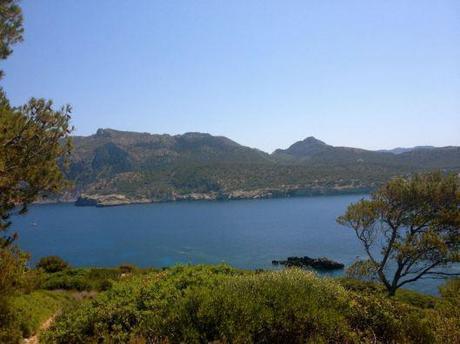 Mallorca in blue