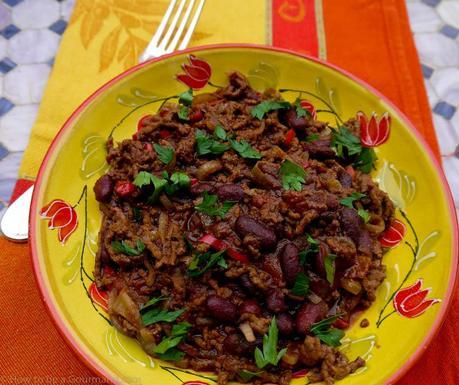 Chilli Con Carne infused with Chocolate and Cinnamon