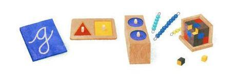 Google Celebrates Maria Montessori's 142nd Birthday