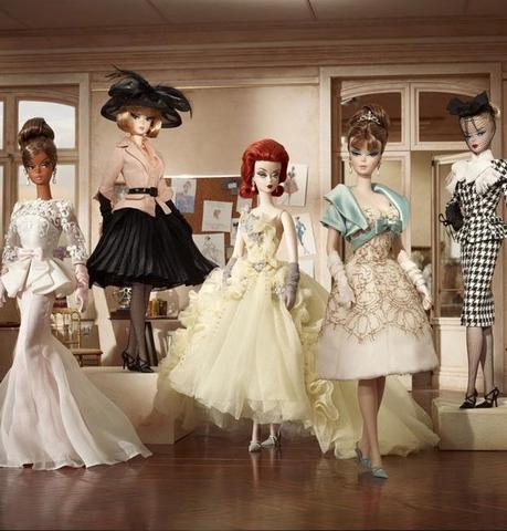 barbie02 BTS Of Barbie's 2012 Fashion Collection Photos