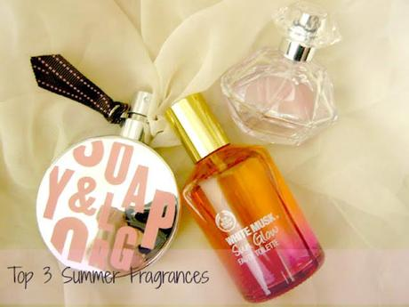 Top 3 summer fragrances