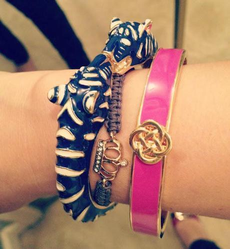 Fashion Friday: CAbi Trench and Stella & Dot Bracelets