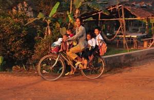Biking with Children