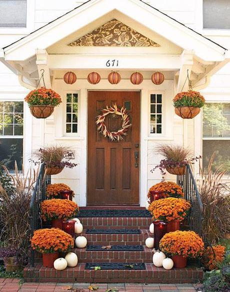 bhg2 Fall Color ~ Designing with Orange and Prize Winner HomeSpirations