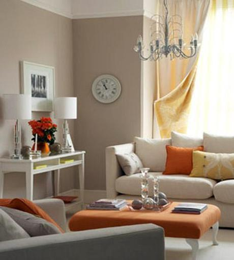 real simple Fall Color ~ Designing with Orange and Prize Winner HomeSpirations