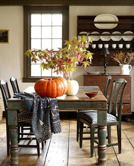 bright bold and beautiful Fall Color ~ Designing with Orange and Prize Winner HomeSpirations