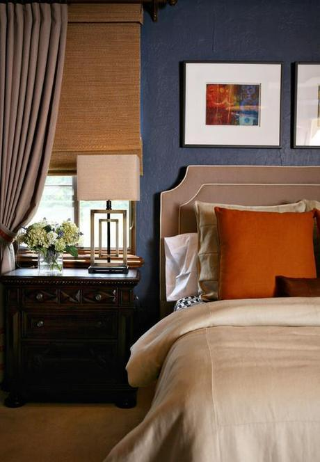 92045 0 8 1000 contemporary bedroom Fall Color ~ Designing with Orange and Prize Winner HomeSpirations