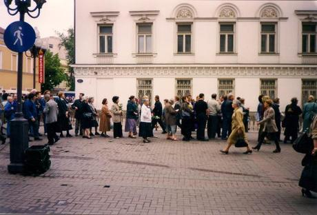 From the photo archives: Moscow, June 1997