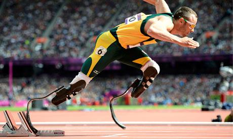 Pistorius is right. Those blades are definitely too long