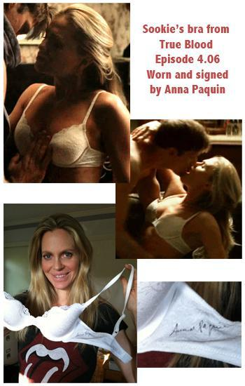 Bid on Sookie's Bra signed by Anna Paquin to Help Out for Africa!