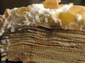 Amaretto Cream Crepe Cake