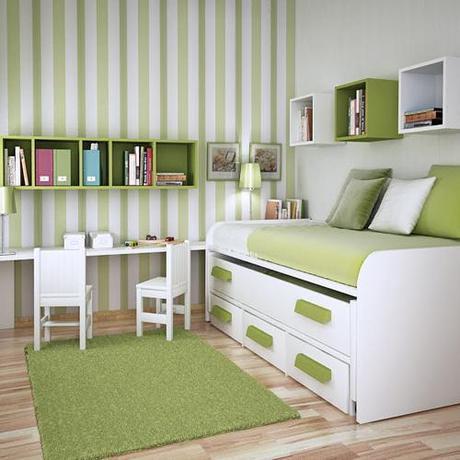 Lovely Spaces with Stripes ♥