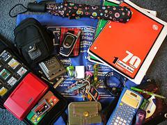What's in my bag? - School