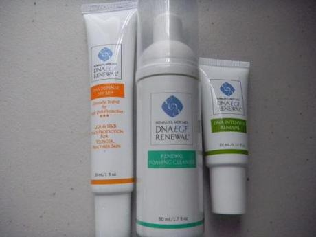 DNA EGF Renewal skincare – the proof is in the pudding