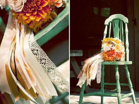 Inspired by Ribbons via Brides Cafe wedding blog