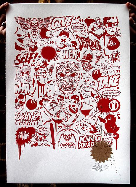 Meggs — Flash Sheet Print