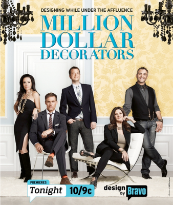 This week on The Skirted Round Table:: Bravo's Million Dollar Decorators