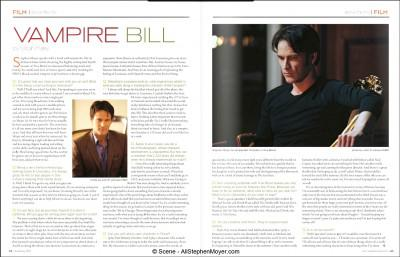 Stephen Moyer talks True Blood and more in Scene Magazine