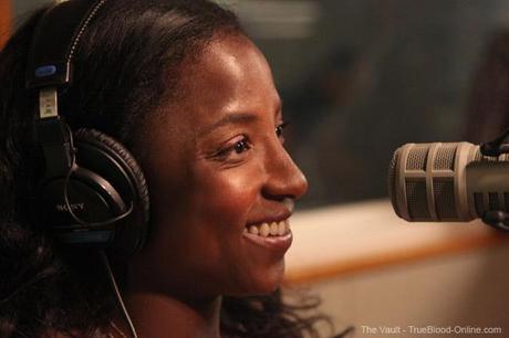 Rutina Wesley visits the SiriusXM Studio in New York City