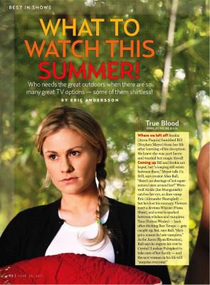 True Blood featured in US Magazine