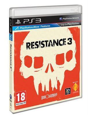 #Resistance3 box art revealed!!