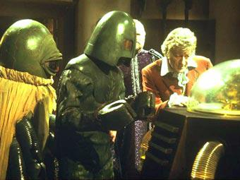 "Review #2556: Classic Doctor Who: ""The Curse of Peladon"""