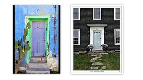 Front Door Colors Paperblog - Unusual front doors