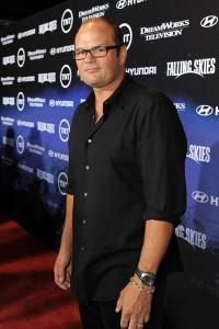 "Chris Bauer arrives at the premiere of TNT's ""Falling Skies"""