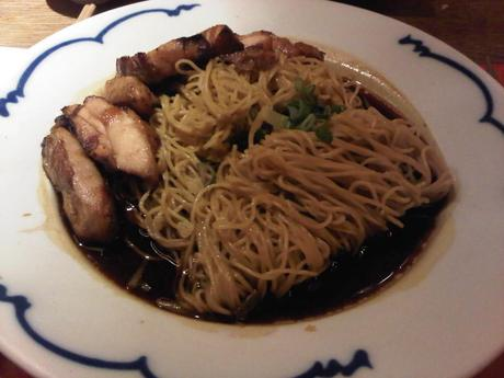 Cha Cha Moon noodles grilled chicken