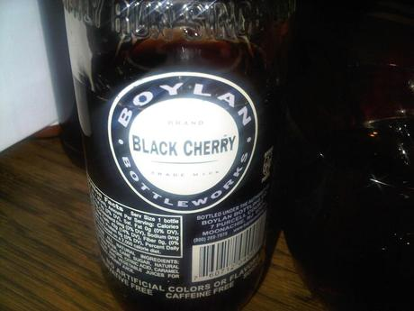 Black cherry cola