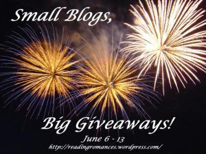 Small Blogs, Big Giveaways WINNERS!