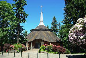 Flanagan Chapel at Lewis & Clark College in Po...