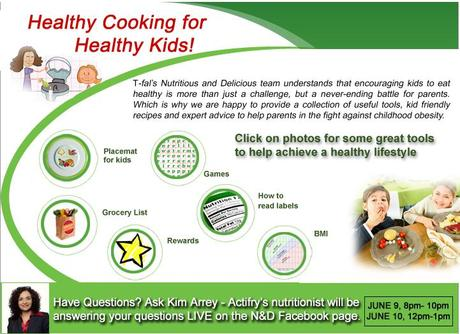 Healthy Cooking For Healthy Kids