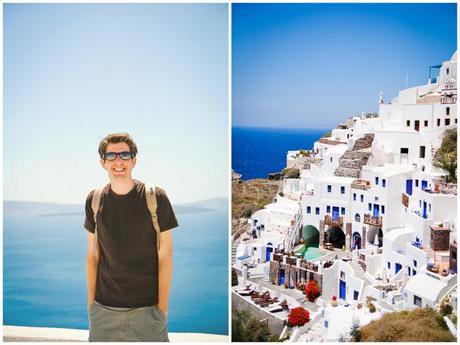white & blue.