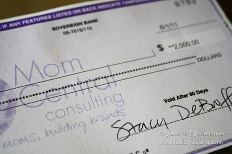 Mom Central Grant Win