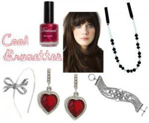coolbrunettes 300x247How to Accessorize by Hair Color