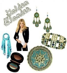golden 275x300How to Accessorize by Hair Color