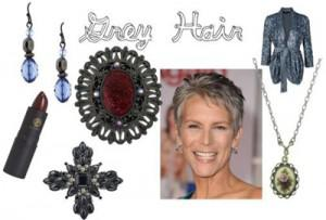 grey 300x203How to Accessorize by Hair Color