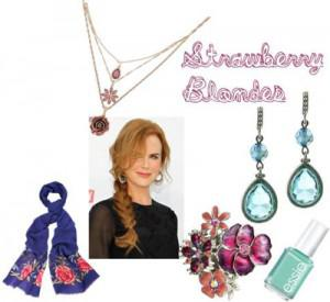 strawberry 300x275How to Accessorize by Hair Color